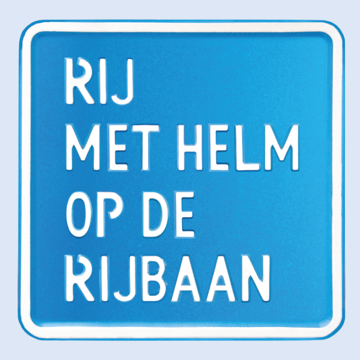 Blauwe plaatje SNOR campagne