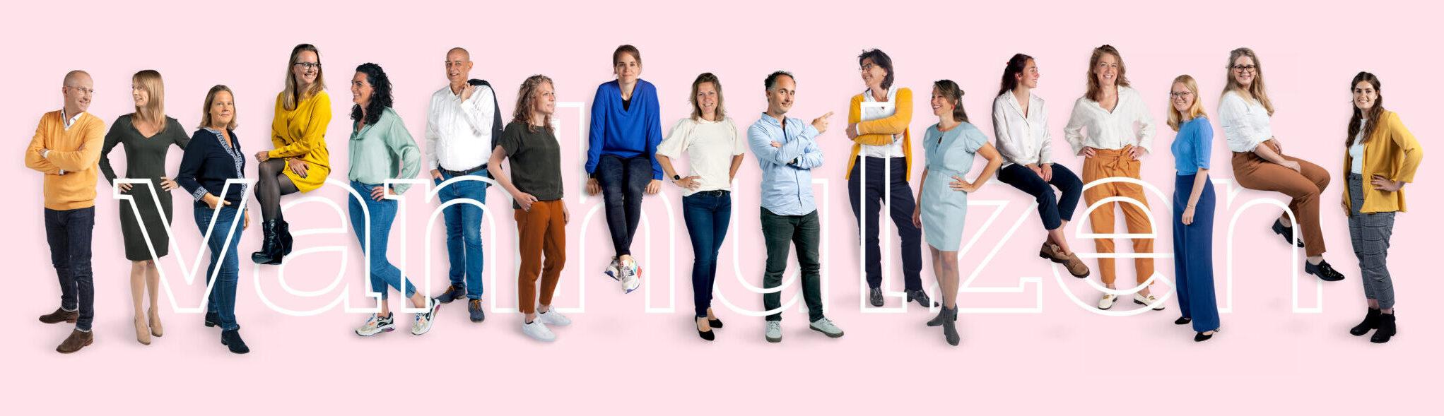 Foto team Van Hulzen Communicatie