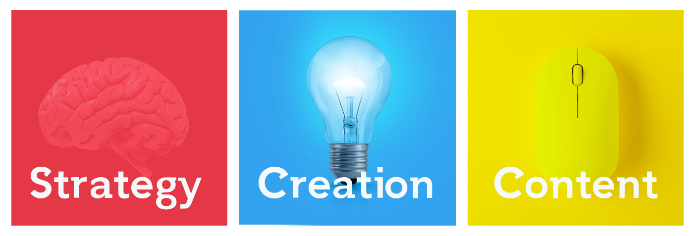 Strategy, Creation, Content